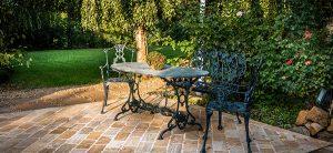 Une intimité qui peut être préservée avec un aménagement paysager de végétation et non de clôtures
